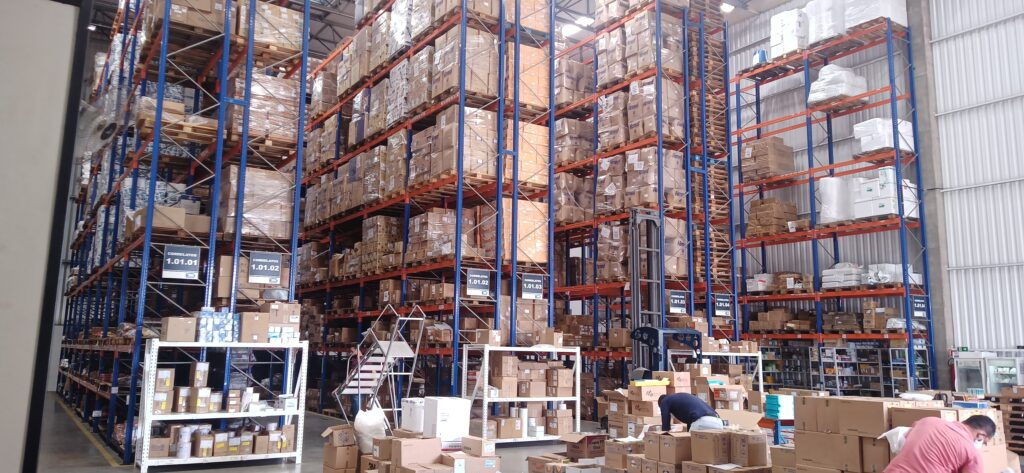 Qualificação Térmica de galpoes para armazenagem de medicamentos termolabeis